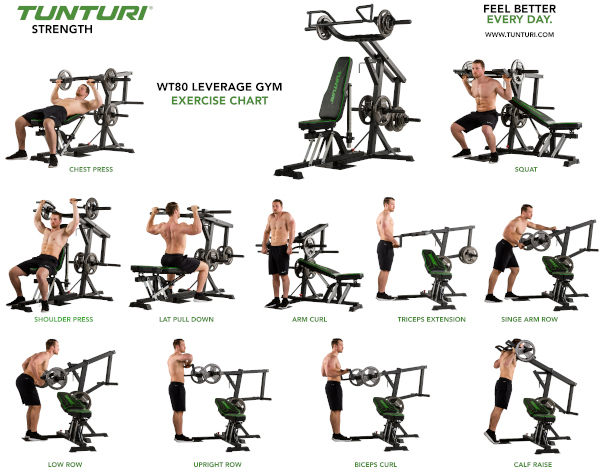 Exercices Home Gym Tutnuri WT80 17TSWT8000 8717842028230